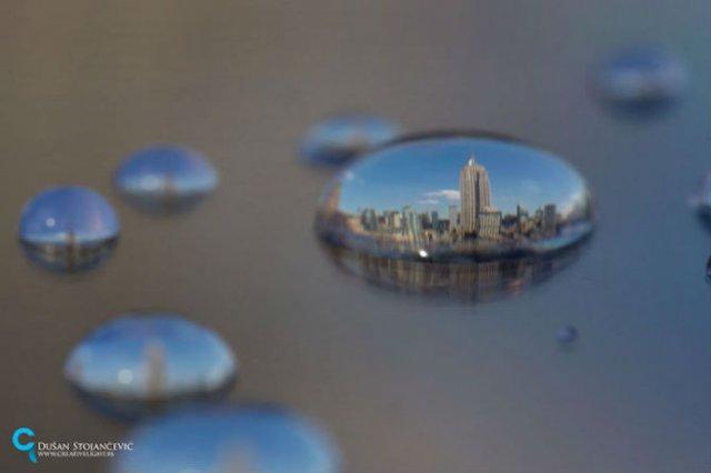 Metropolele lumii, in picaturi de apa - Poza 13