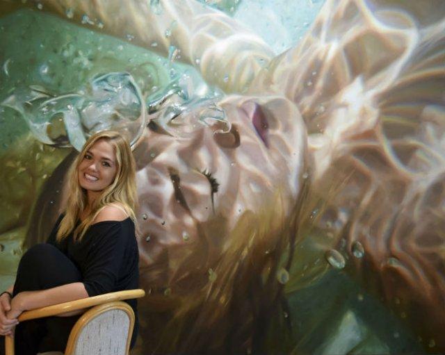 Amintiri de sub apa, in picturi realiste - Poza 5