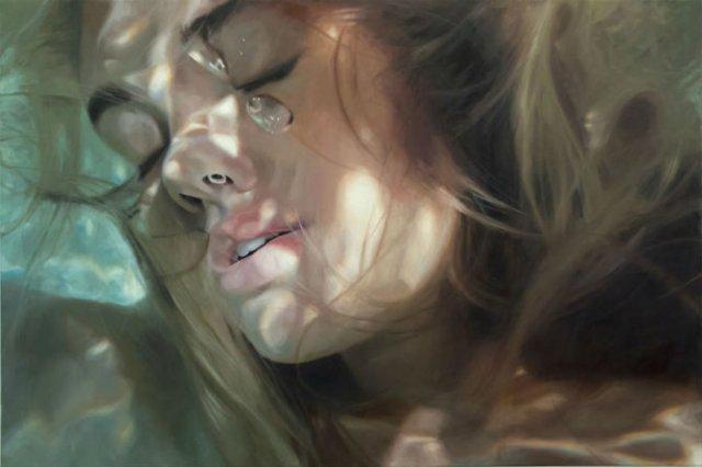 Amintiri de sub apa, in picturi realiste - Poza 2