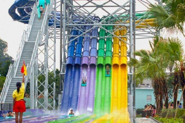 Pentru clipe racoroase: 20+ Parcuri acvatice spectaculoase