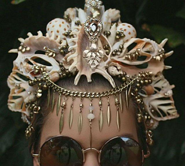 Se poarta scoicile: Coroane de sirena din cochilii - Poza 14