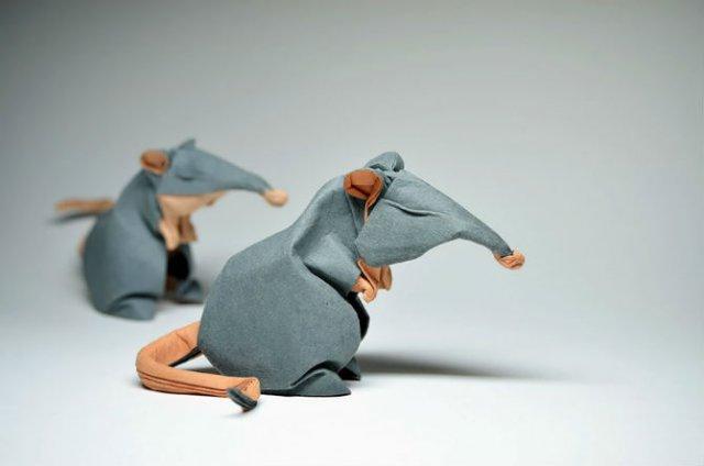 Animale din origami