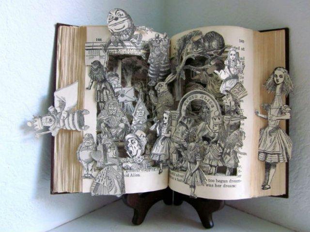 Sculptura in carti vechi: Arta care da o noua viata batranelor pagini - Poza 11