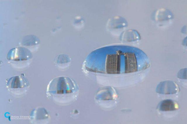 Metropolele lumii, in picaturi de apa - Poza 12
