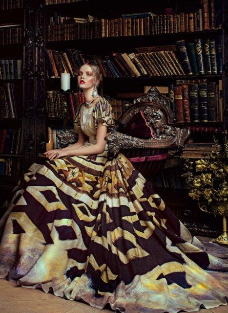 Pictura clasica pe rochii fabuloase - Poza 7