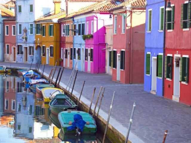 Un deliciu vizual: Cele mai colorate destinatii din lume - Poza 15