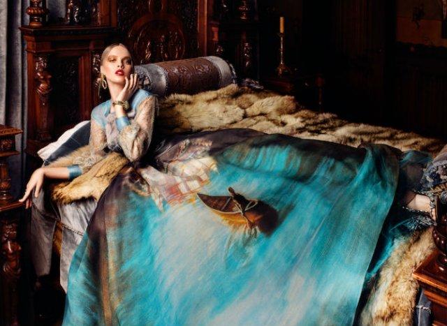 Pictura clasica pe rochii fabuloase - Poza 1