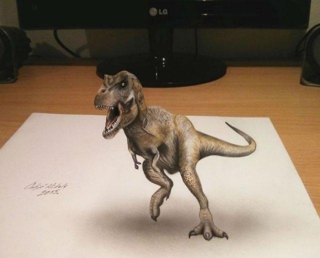 Desene 3D, pentru bruiajul privitorilor - Poza 12