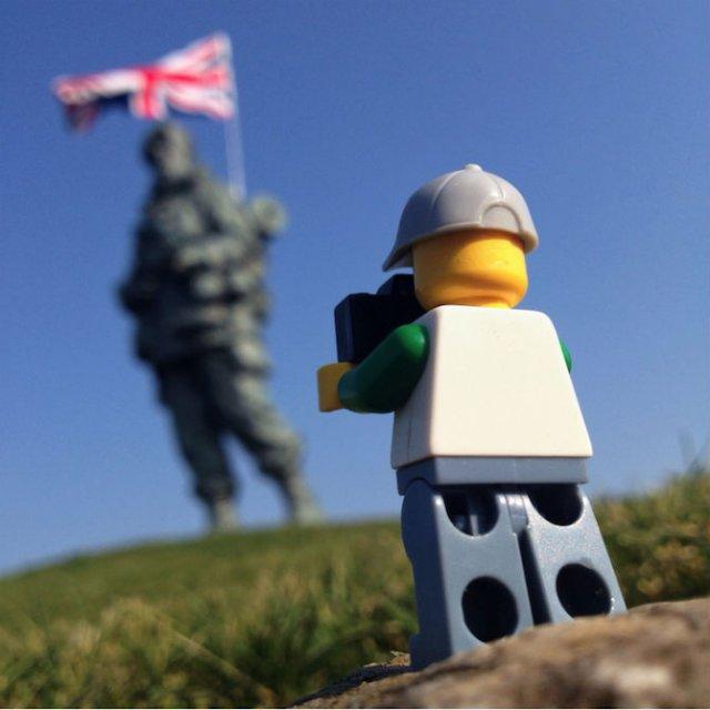 Aventurile unui omulet Lego prin Londra - Poza 13