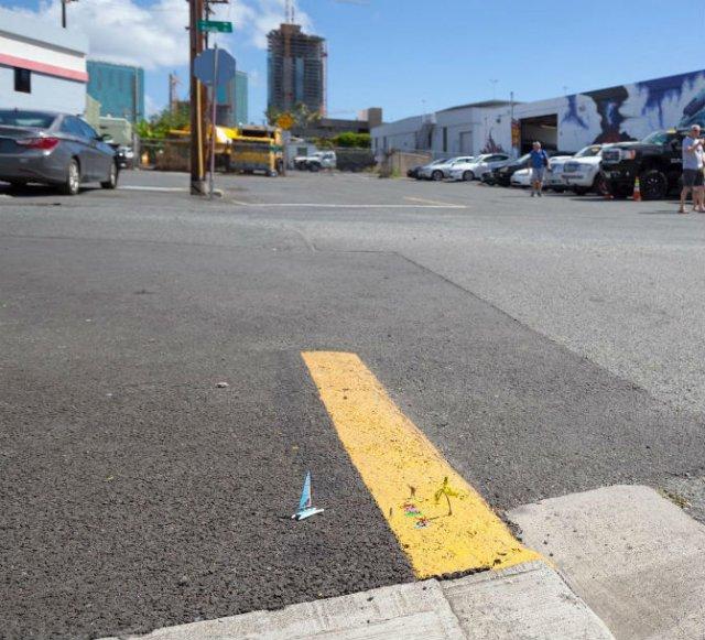 Interventii stradale minaturale, de Slinkachu - Poza 7