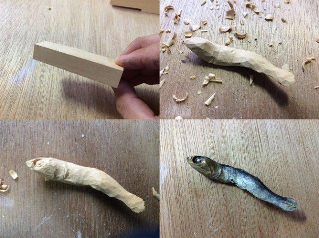 O lume culinara din lemn, de Seiji Kawasaki - Poza 1