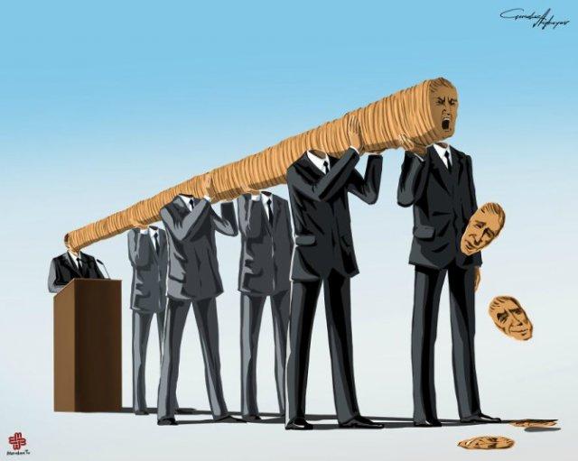 Nenorocirile lumii, in ilustratii satirice - Poza 9