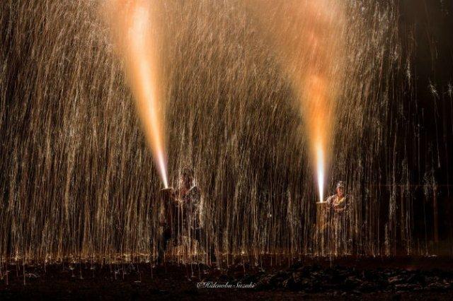 Festivalul Artificiilor: Traditiile explozive ale japonezilor - Poza 11