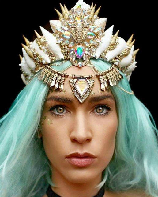 Se poarta scoicile: Coroane de sirena din cochilii - Poza 12