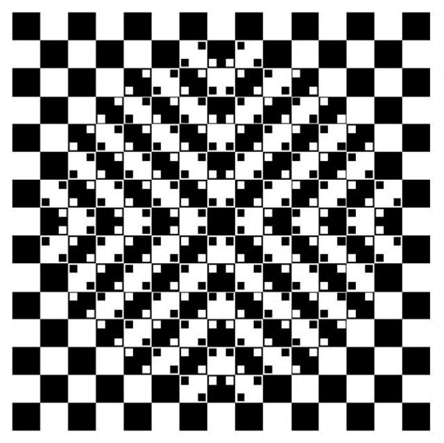 Opt iluzii optice geometrice halucinante - Poza 2