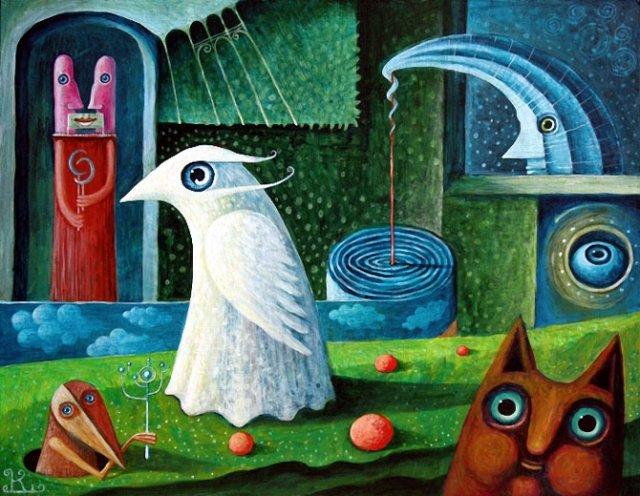 Picturi suprarealiste de Leszek Andrzej Kostuj - Poza 3