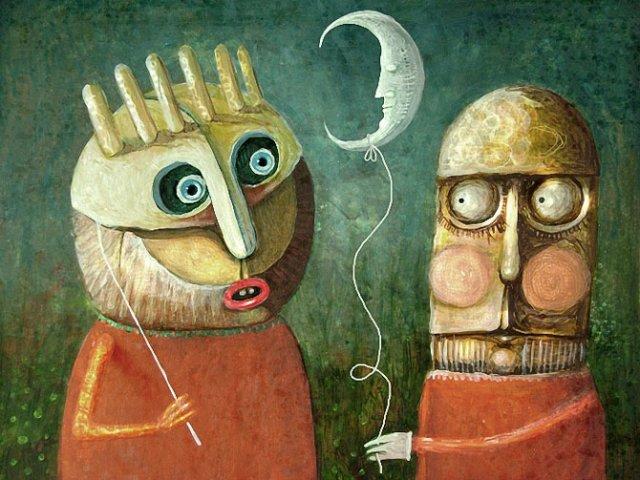 Picturi suprarealiste de Leszek Andrzej Kostuj - Poza 9