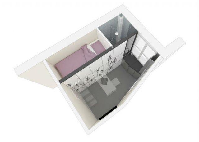 Cum arata o locuinta de 8 metri patrati, careia nu-i lipseste nimic - Poza 1