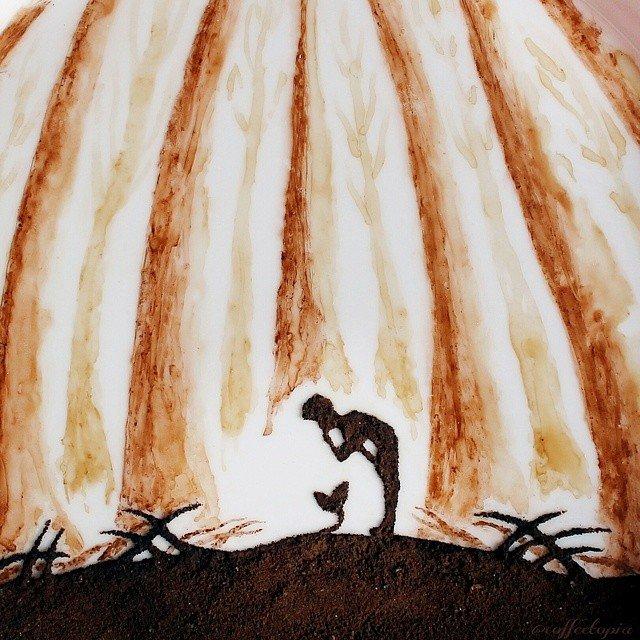 Artistul cafelei: Savoare vizuala intr-un altfel pictorial - Poza 8