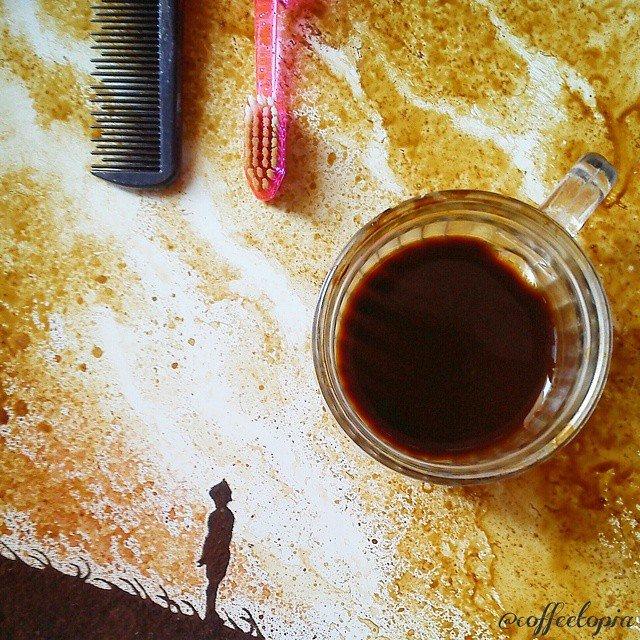 Artistul cafelei: Savoare vizuala intr-un altfel pictorial - Poza 15