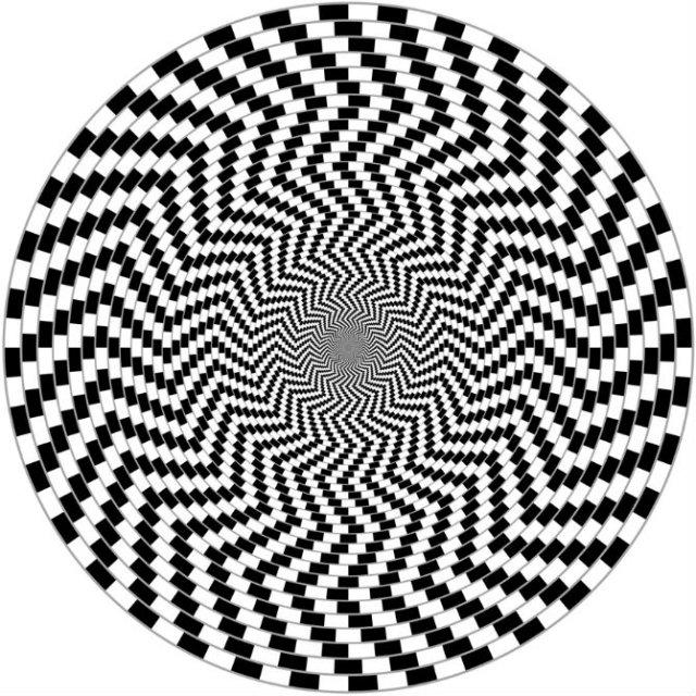Opt iluzii optice geometrice halucinante - Poza 3