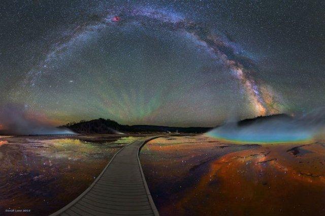 Cum arata Calea Lactee prin ochii lui David Lane