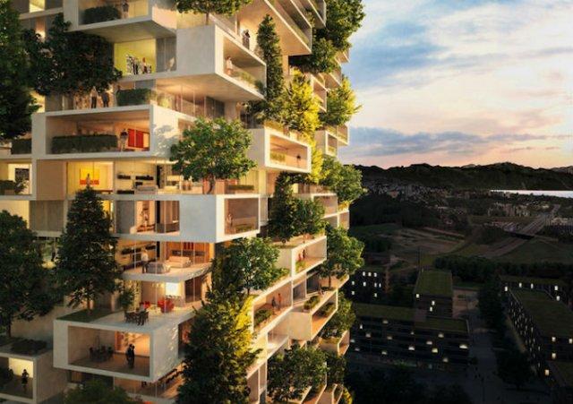 Turnul cedrilor: O padure verticala locuibila, in mijlocul orasului - Poza 8