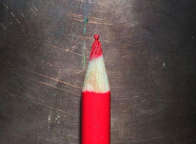 Cele mai mici sculpturi in mina de creion - Poza 2
