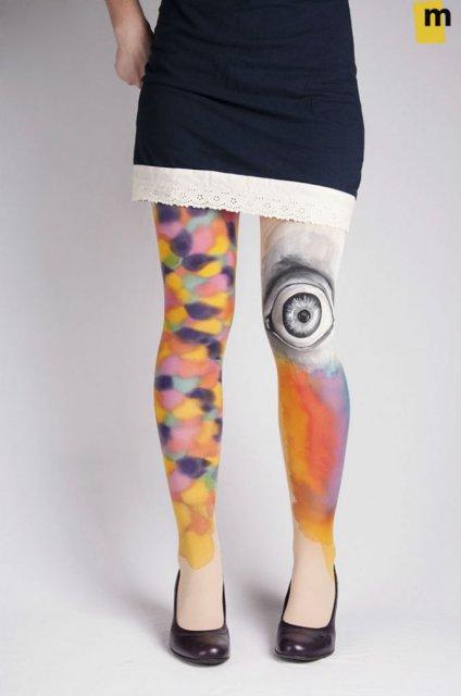 Se poarta arta: Picturi pe care le poti imbraca - Poza 11