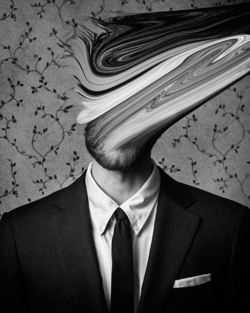 Desfigurat de depresie: Autoportretele unui fotograf suferind - Poza 8