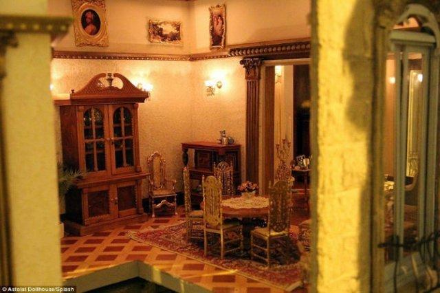 Casa de papusi de milioane: Lux si opulenta pentru partenerii de joaca - Poza 10