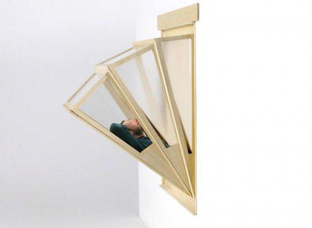 Mai mult cer: Fereastra acordeon pentru cei fara balcon