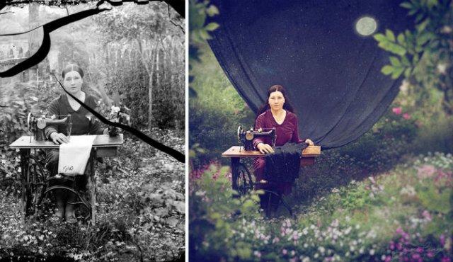 Fotografii din Romania interbelica, suprarealist nuantate - Poza 19
