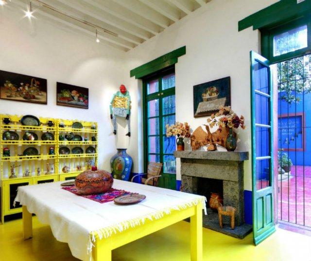 Casa Azul: Un tur memorabil in cel mai intim loc al Fridei Khalo - Poza 9