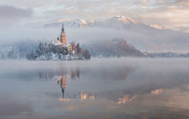 Dimineti de poveste din Slovenia, in poze mirifice - Poza 1
