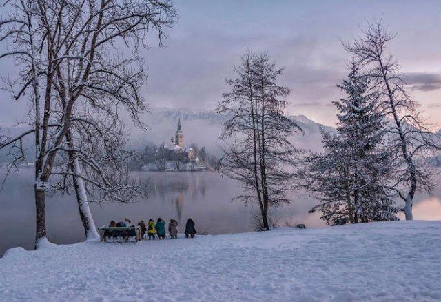 Dimineti de poveste din Slovenia, in poze mirifice - Poza 10
