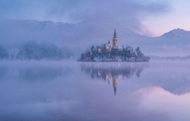 Dimineti de poveste din Slovenia, in poze mirifice - Poza 2