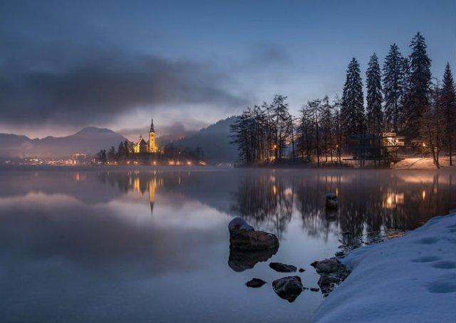 Dimineti de poveste din Slovenia, in poze mirifice - Poza 3