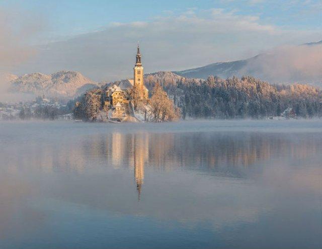 Dimineti de poveste din Slovenia, in poze mirifice - Poza 5