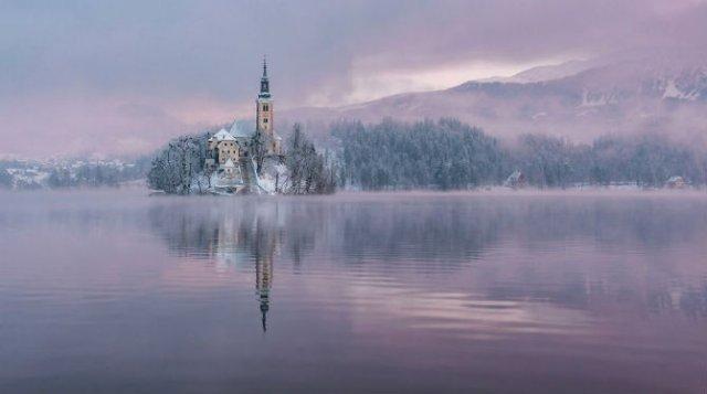 Dimineti de poveste din Slovenia, in poze mirifice - Poza 7