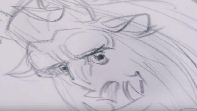 Creatorul Micii Sirene a intrat in lumea desenata de el - Poza 3