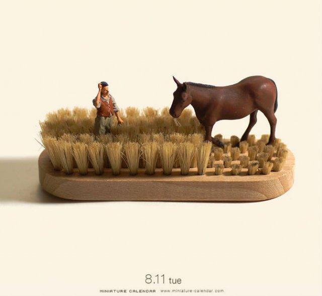 Lumea miniaturala a lui Tatsuya Tanaka