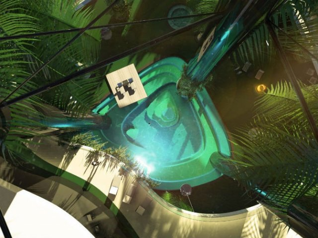 Extravaganta de pe ape: Insula mobila de lux - Poza 5