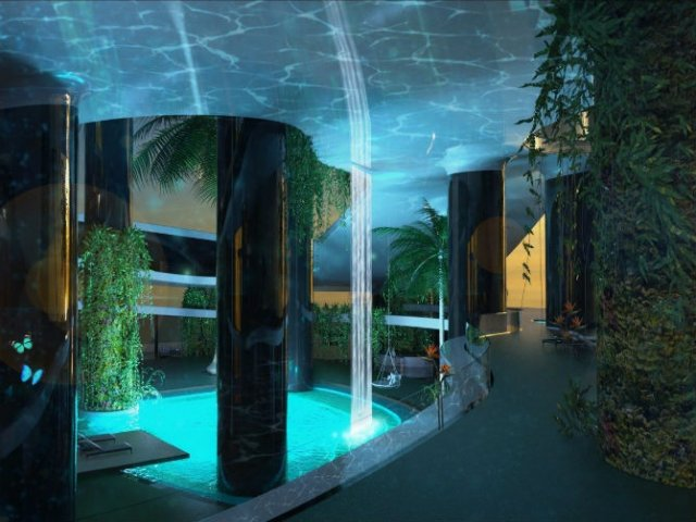 Extravaganta de pe ape: Insula mobila de lux - Poza 6