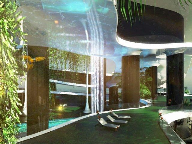 Extravaganta de pe ape: Insula mobila de lux - Poza 7