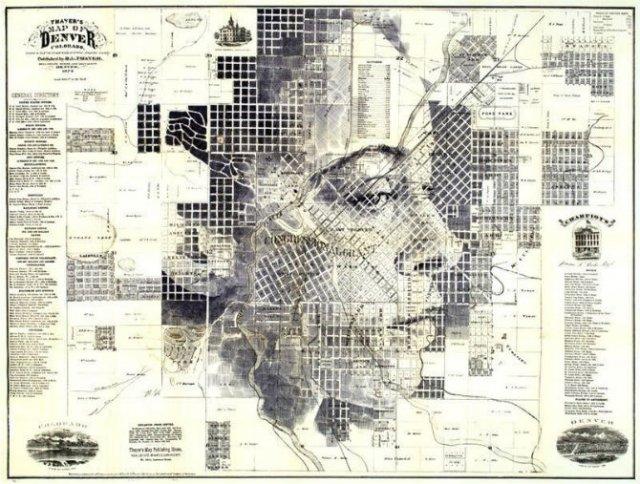 11 Chipuri umane realizate din harti vechi - Poza 6