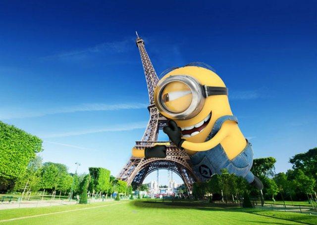 Cum ar arata o lume invadata de minioni - Poza 10