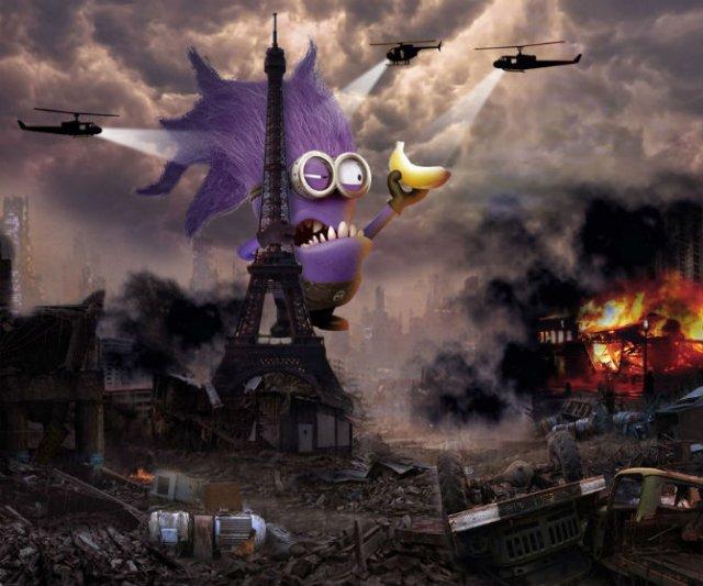 Cum ar arata o lume invadata de minioni - Poza 11