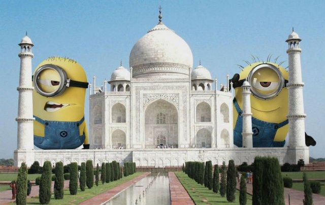 Cum ar arata o lume invadata de minioni - Poza 3