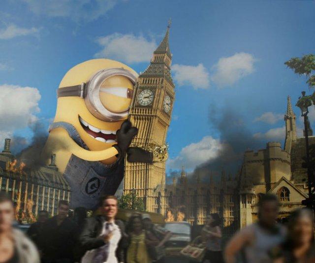 Cum ar arata o lume invadata de minioni - Poza 9